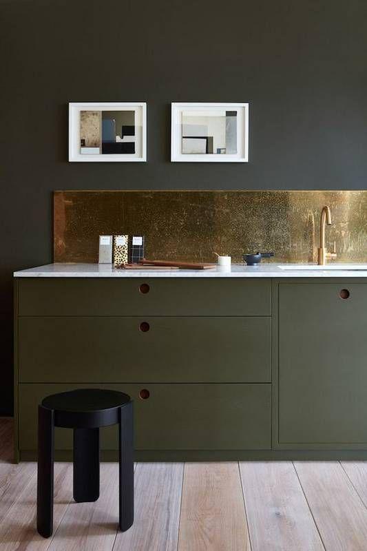 188 best metallics! images on Pinterest   Backsplash for kitchen ...