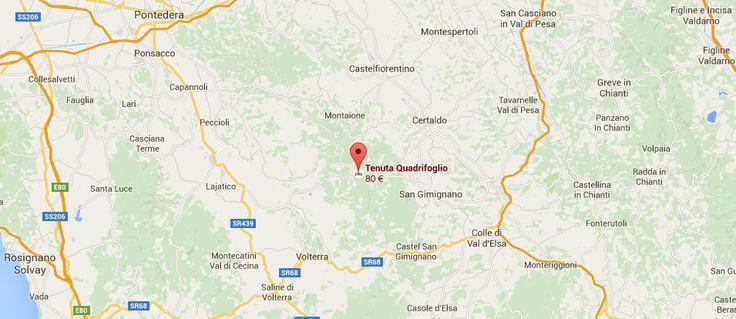 Holiday Home and  Residence San Gimignano,Volterra,Certaldo - Tenuta Quadrifogli