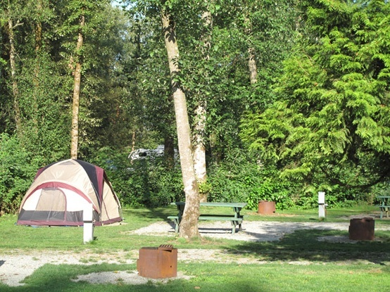 Fort Camping tent site