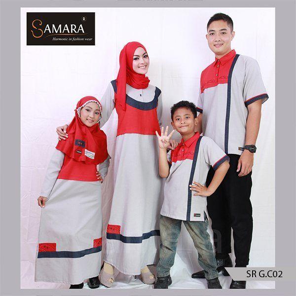 Baju Couple yang bagus dan murah,Baju Couple Muslim Branded, samara  Warna merah yang berani dan disejajarkan dengan warna abu-abu yang soft, sangat unik. Menonjolkan keberanian dalam diri pemakainya.  Sangat cocok pula untuk digunakan saat acara formal maupun non-formal. Berbahan dasar katun twill 40s yang nyaman. Membuat anda selalu nyaman memakainya seharian. Tidak gerah dan tidak mudah kusut.  Harga 1 Set Sarimbit C.02 Rp. 570.000,- Kode Koko : KC.02 Size : (Anak : 4,6,8,10,12,14)…