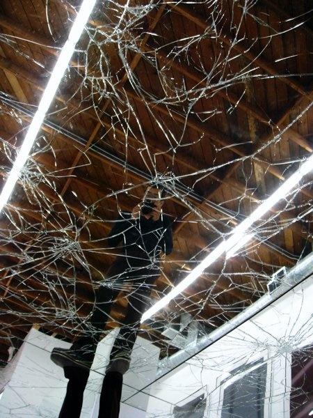 Broken Mirror Floor Polyurethane