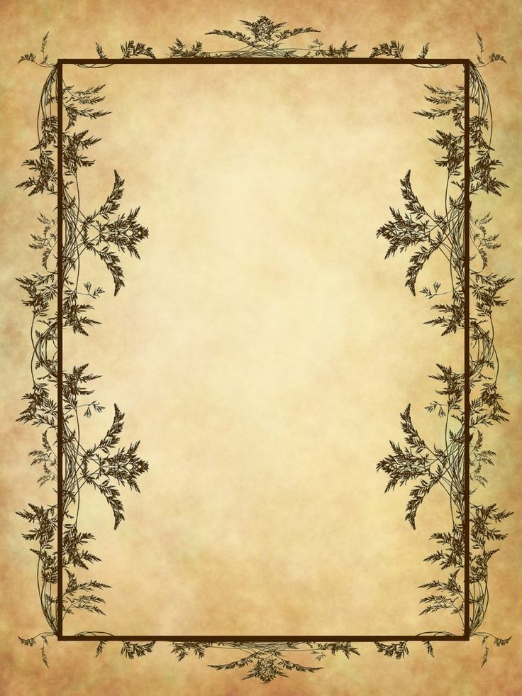 Herbal border page