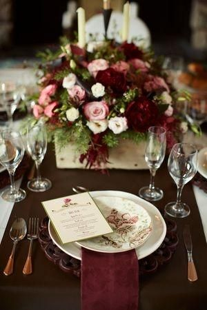 place setting wedding - Google Search