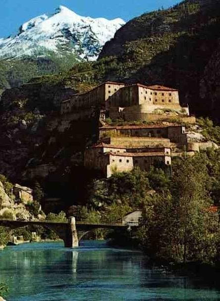 Forte di Bard, Valle d'Aosta, Valle D'Aosta region Italy