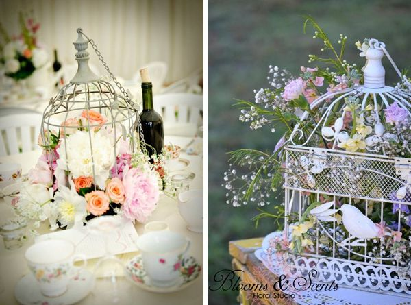 bird cage wedding ideas | birdcage decor for weddings Source Left Right