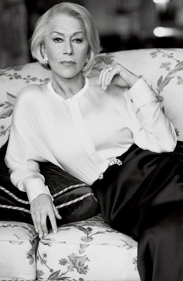 Helen Mirren by Mikael Jansson for Vogue US, March 2012