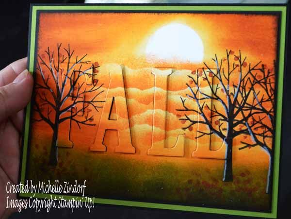fall card by Michelle Zindorf