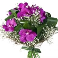Mystical Purple Bridal Bouquet