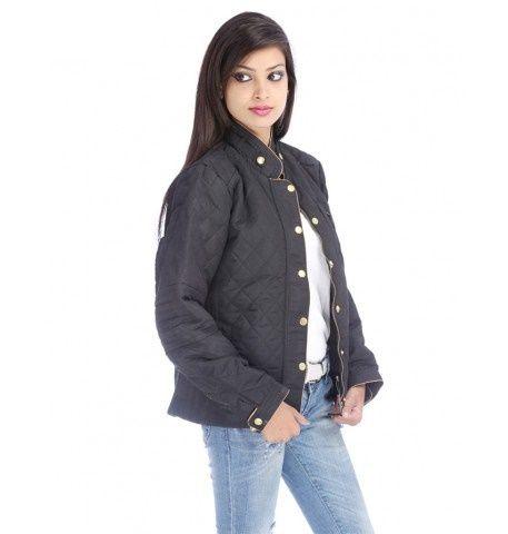 Duke Stylish Lady Winter Black Jacket
