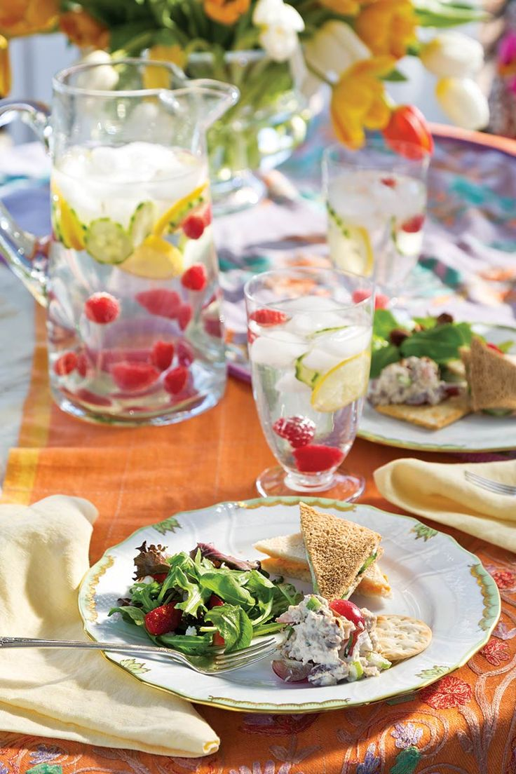 17 best ideas about ladies luncheon on pinterest tea for Easy easter lunch menu
