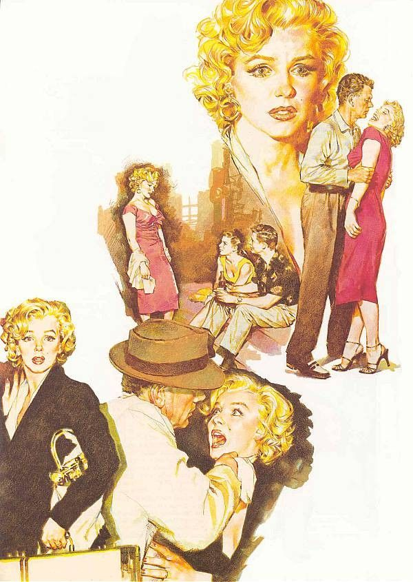 Marilyn Monroe illustrations by Pepe Gonzalez || This image first pinned to Marilyn Monroe Art board, here: http://pinterest.com/fairbanksgrafix/marilyn-monroe-art/ || #Art #MarilynMonroe