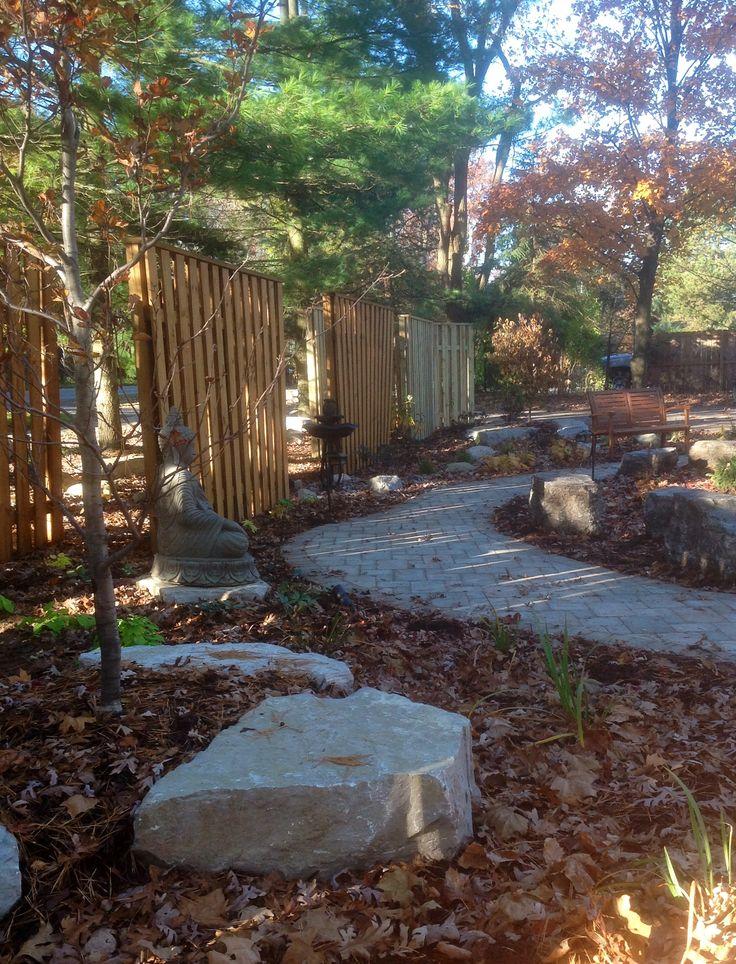 Tranquil Meditation Garden.