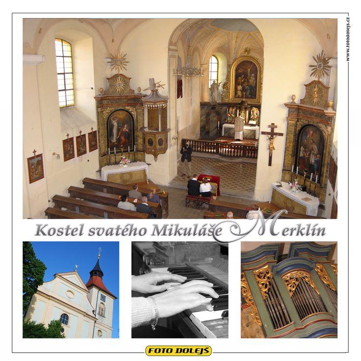 Merklín, kostel svatého Mikuláše