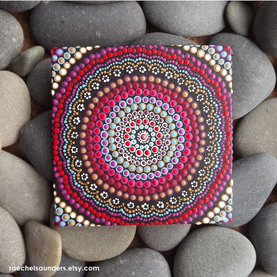 Aboriginal Dot Art Painting Acrylic paint on by RaechelSaunders