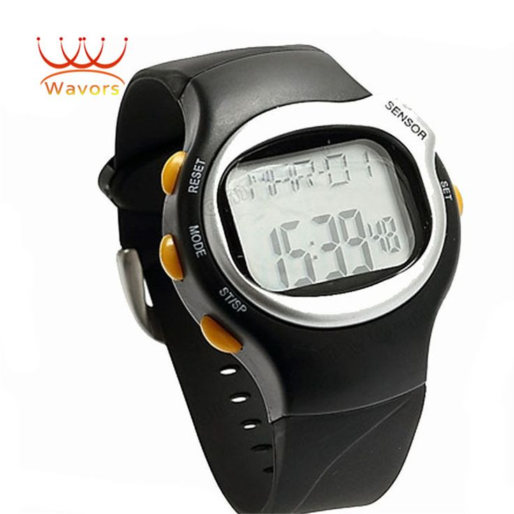 >> Click to Buy << Wavors Luxury Brand New LED Digital Watch Pulse Heart Rate Monitor Calories Counter Fitness Watches for Men #Affiliate