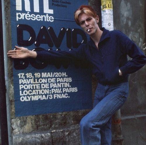 Bowie in Paris