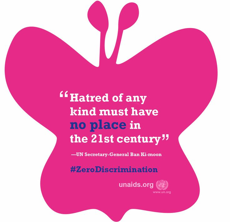 """""""Hatred of any kind must have no place in the 21st century"""" said Ban Ki-moon in commemoration of Zero Discrimination Day on 1 March."""