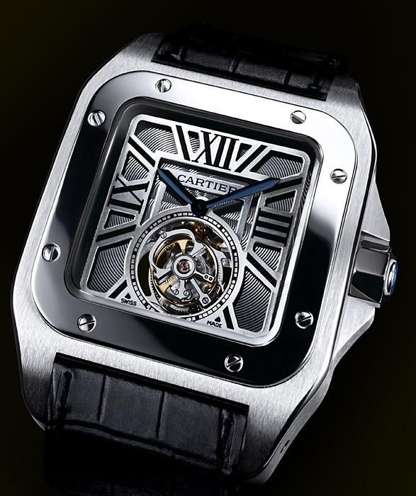 Cartier Watches | as fort knox striking yet elegant series of cartier watches santos 100 ...
