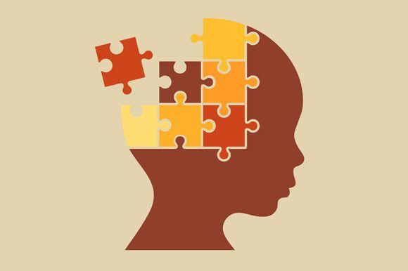 Puzzle Human Head  @creativework247