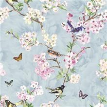 Fushion Wallpaper-Maylea 98214 Blue