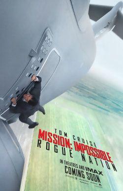 Cet été, Tom Cruise, au meilleur de sa forme, revient dans le 5ème chapitre de, Mission Impossible. Le 12 août, les agents de Mission Impossible devront faire face à une nouvelle menace, le SYNDICAT. Les cascades sont périlleuses, le scénario devrait...