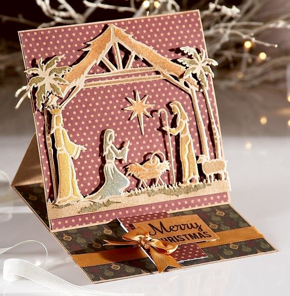 Christmas card using the Sara Signature Traditional Christmas Collection from Crafter's Companion. #crafterscompanion