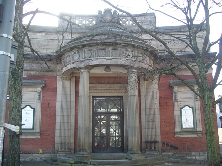 the old stafford town library