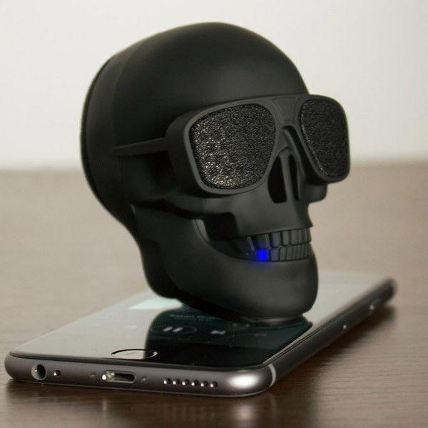 AeroSkull Portable Bluetooth Speaker Dock