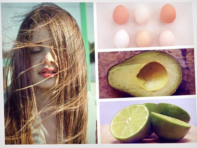 Tratamiento natural para el cabello aspero y sin brillo con sólo 3 ingredientes.