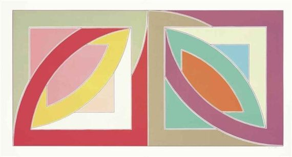 Artwork by Frank Stella, Bonne Bay, Made of lithograph and screenprint in colors on Special Arjomari paper