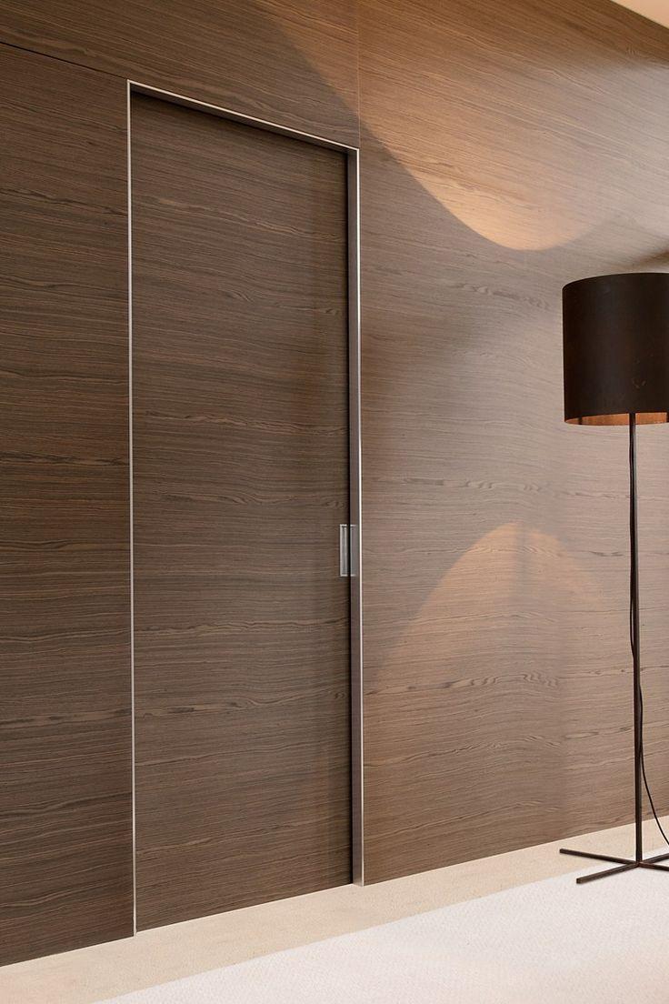 25 best ideas about sliding door design on pinterest for Door wood design modern
