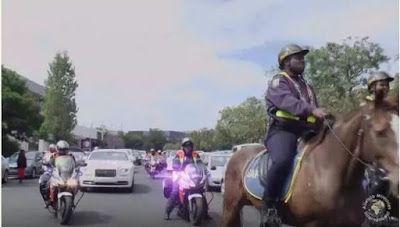 FENMARK BLOG: PASTOR ALPH LUKAU ARRIVES IN ROLLS ROYCE, HORSES A...