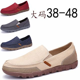 Kyle Keith Men Fashion Summer Loafers British Style Loafers For Men Velvet Flat Driving Shoes Moccasins Suede Sheep Leather (32805280165)  SEE MORE  #SuperDeals