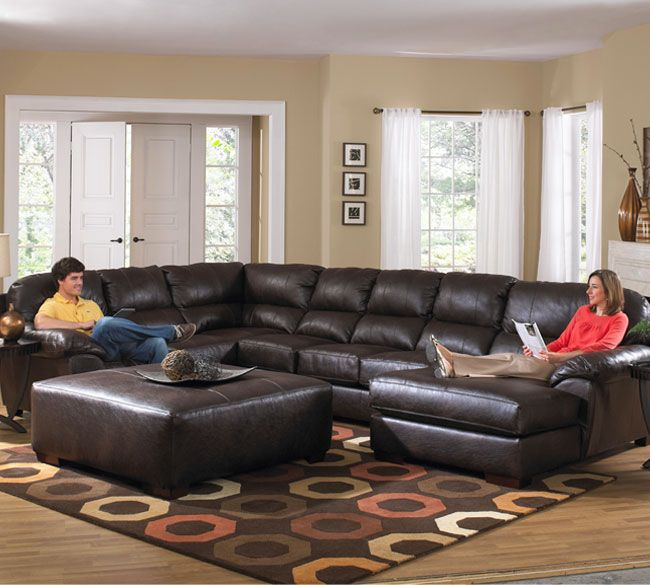 Jackson Lawson 4243 Sectional. Sectional Living RoomsLeather Sectional  SofasOversized ...