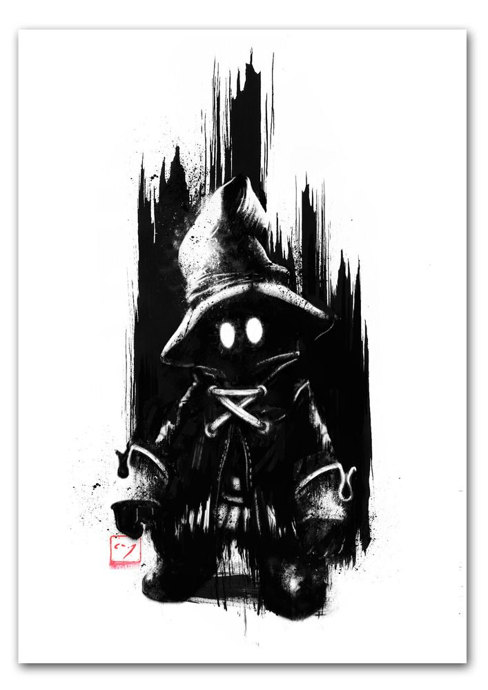 The Mage - Art Print by GAMETEE