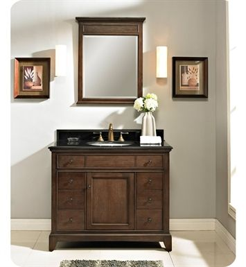 Pics Of Fairmont Designs V Smithfield Modern Bathroom Vanity in Mink