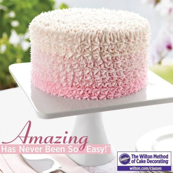 take a wilton method of cake decorating class and learn how easy it is to - Wilton Cake Decorating Classes