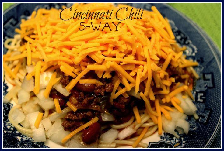 Sweet Tea and Cornbread: Cincinnati Chili...5-Way!