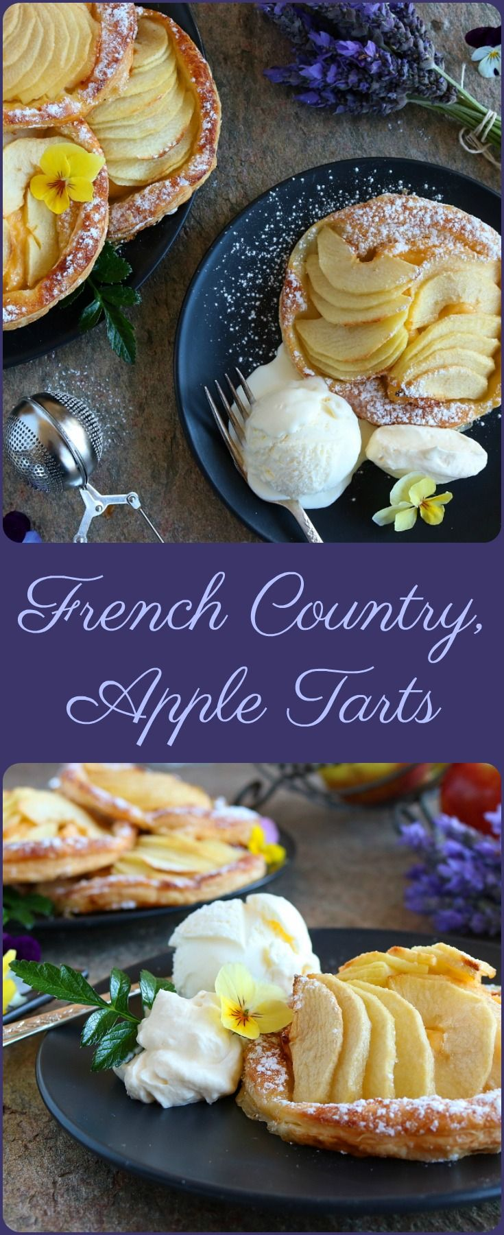 French Country, Apple Tarts