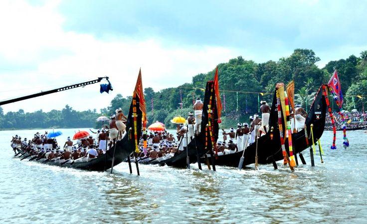 Aranmula Boat Race at Kerala >>>#Kerala #ArtCultureTrip #PhotographyTrip #WaterSports
