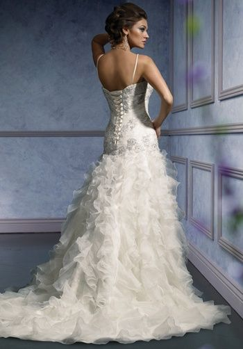 This was my wedding dress! love at first sight. Mia Solano Wedding Dresses