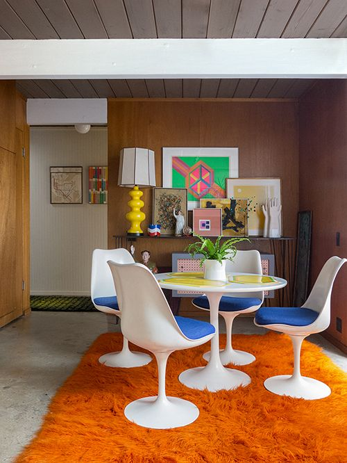 a time traveling vintage inspired san francisco home obsessed - 70s Home Design