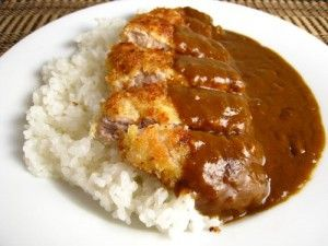Katsu Kare  Japanese port cutlet with Curry Sauce