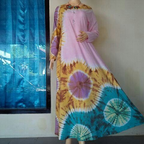 Dress Tiedye from BulBul Hijaz