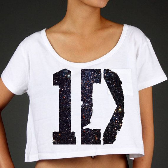 One Direction Logo Black Sparkles