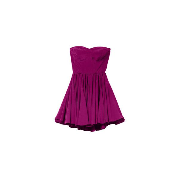 night out dress (€365) ❤ liked on Polyvore featuring dresses, vestidos, short dresses, purple, party dresses, purple cocktail dress, mini party dresses and short purple dresses