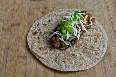 ... Slow Cooker Recipe for Spicy Vegetarian Pinto Bean and Chard Burritos