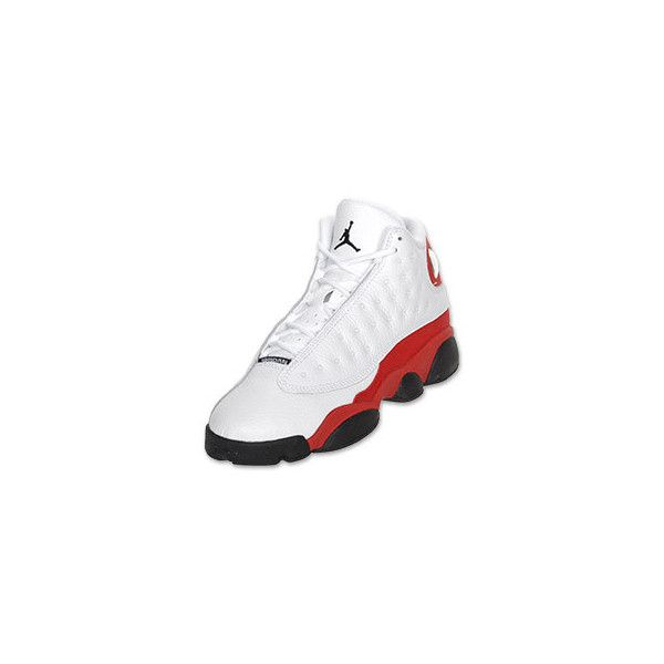 buy online dda3b d88b0 ... wholesale air jordan retro 13 kids basketball shoe white black v.red  3fe4c 8ed4c