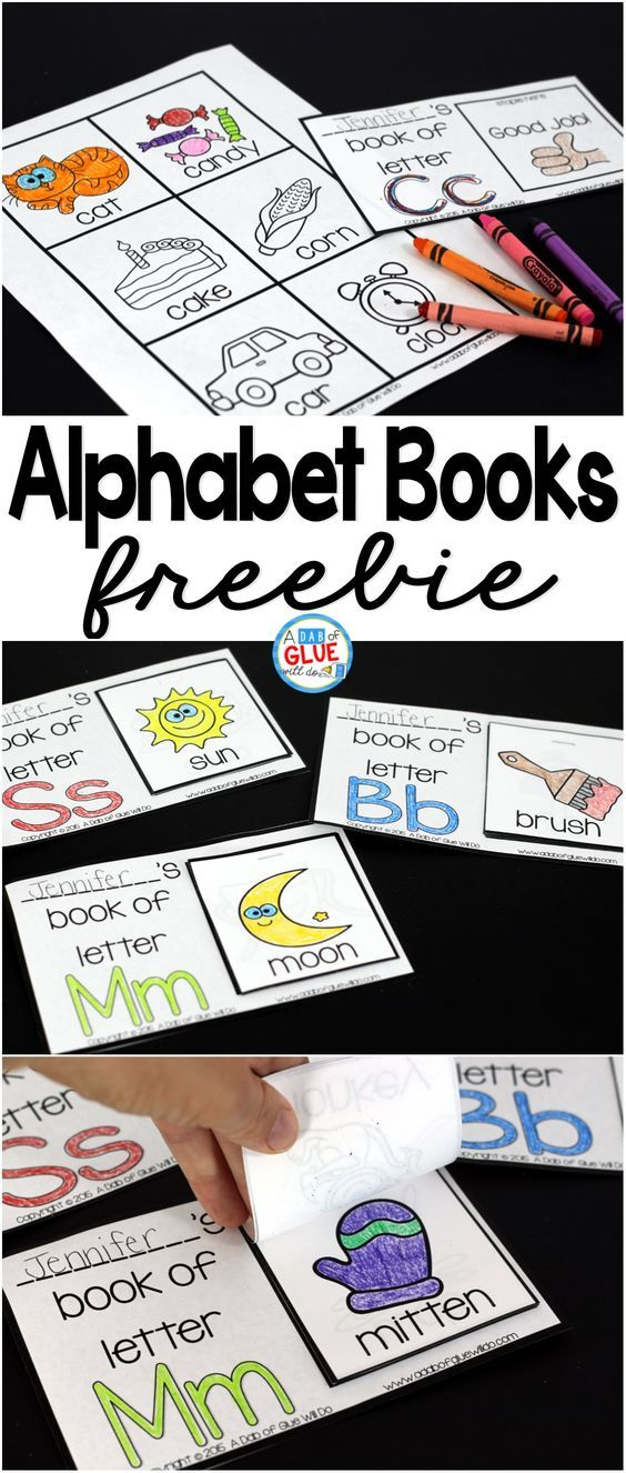 Join our newsletter and receive this entire Alphabet Books resource for FREE! It is easy together and a fun and interactive way to review or learn about the alphabet.