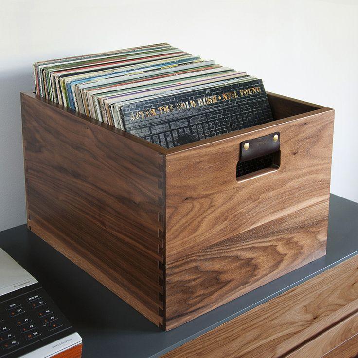 Symbol Audio Dovetail vinyl record crate 370